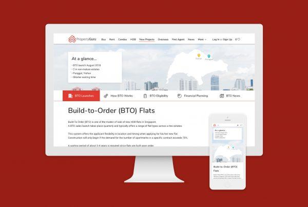 PropertyGuru BTO launches - case study