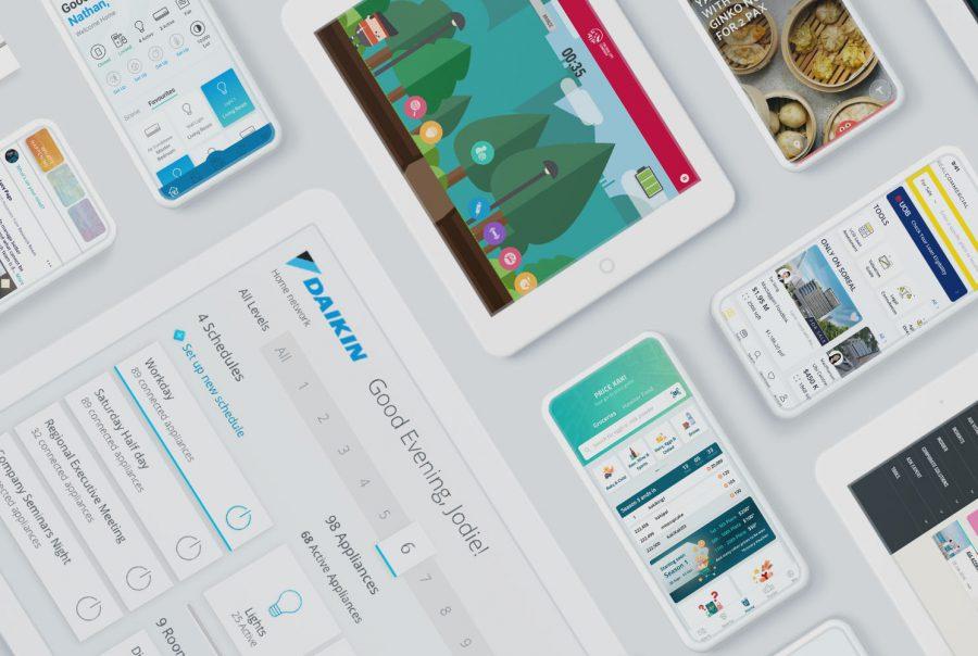 JIN Design - portfolio work banner
