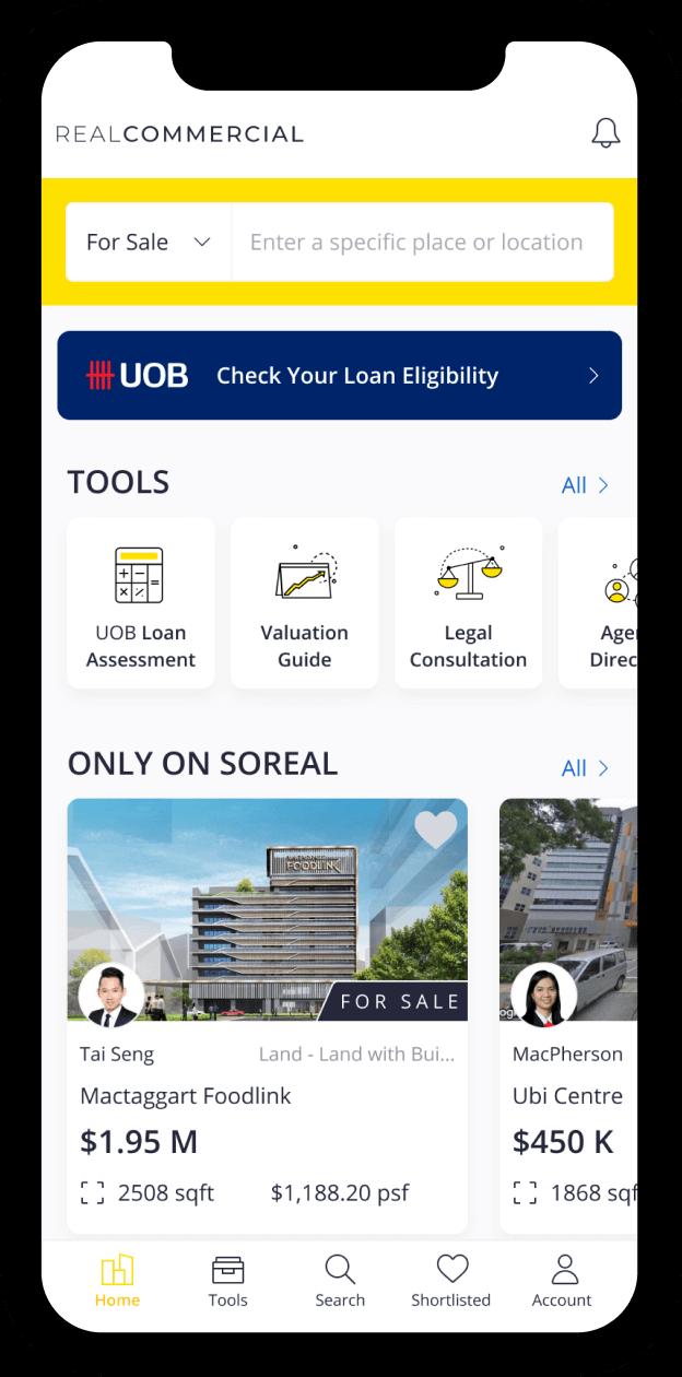 uobrc - portfolio mockup case study