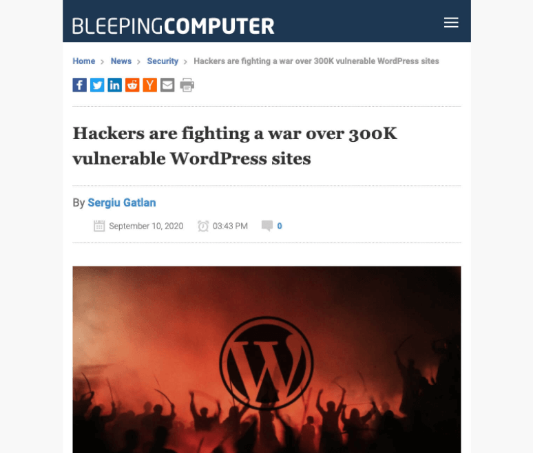 JIN Design thumbnail - hackers fighting over 300k vulnerable WordPress sites